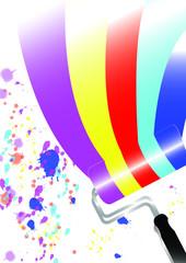 Pennello colorato