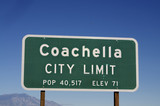 Coachella California poster