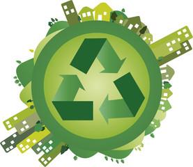 Mundo verde - Recicle
