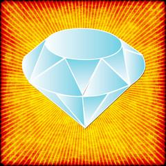 diamond on starburst