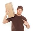 postbote ups versand handel kurierdienst