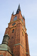 The Riddarholmen Church in Stockholm, Sweden