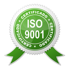 Sello ISO 9001 CERTIFICADO