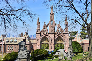 Green-Wood cemetery - main gate, Brooklyn, NY