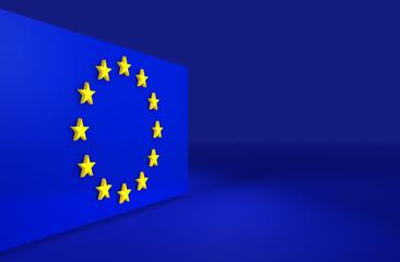 European Union 3d background