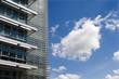 Bratislava - sky and modern facade
