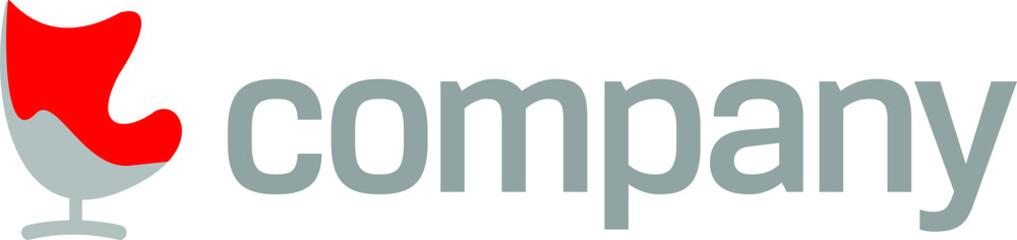 Modern furniture company logo