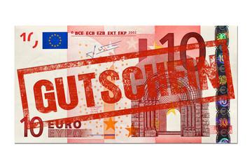 10 Euro Gutschein Stempel