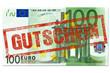 100 Euro Gutschein Stempel