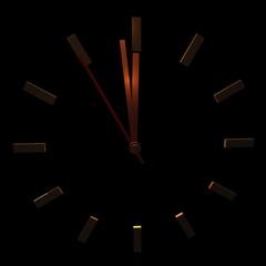 Uhr Zeit vergehen