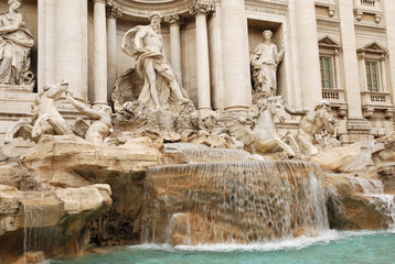 Fontana di Trevi (Roma, Italia)