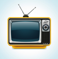Vector retro TV XXL icon