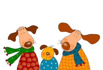 Dogs - Cartoon characters