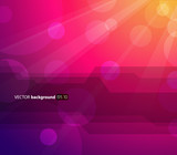 Fototapety Abstract colorful background with sun and place for your text.