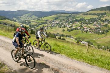 Im Schwarzwald unterwegs mit dem MTB