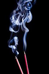 Smoke Meditation.  Räucherstäbchen