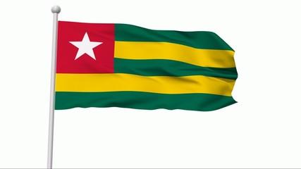 Fahne Togo NTSC