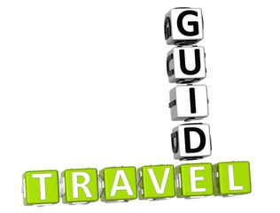 3D Travel Guide Crossword
