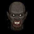 Nasty bloody vampire