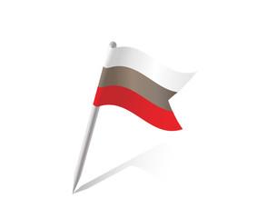 Bulgaria Flagge Vektor