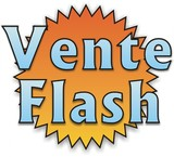 étiquette vente flash