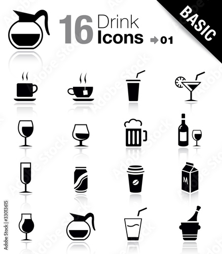 Basic - Drink Icons - 33013615
