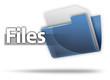 "3D Style Folder Icon ""Files"""