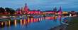 Dresden-Skyline pink