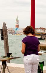 Painter in Venice