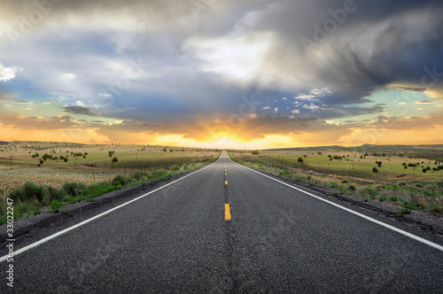 Sunset Road Route 66