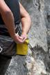 rock climber magnesite