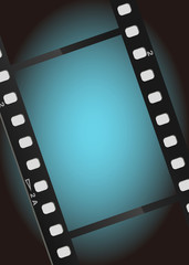 movies film blue light background