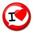 "Badge ""I love"""