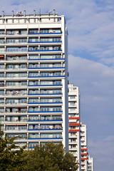 Hochhaus-Skyline Berlin-Mitte