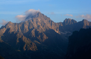 Gierlach - the highest peak of Slovakia, Tatras and Carpathians