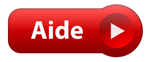 """Bouton Web """"AIDE"""" (support service clients assistance en ligne)"""