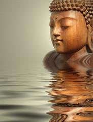 buddha wasser hintergrund