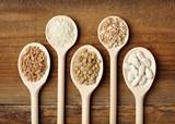 food ingredients rice bean cereal