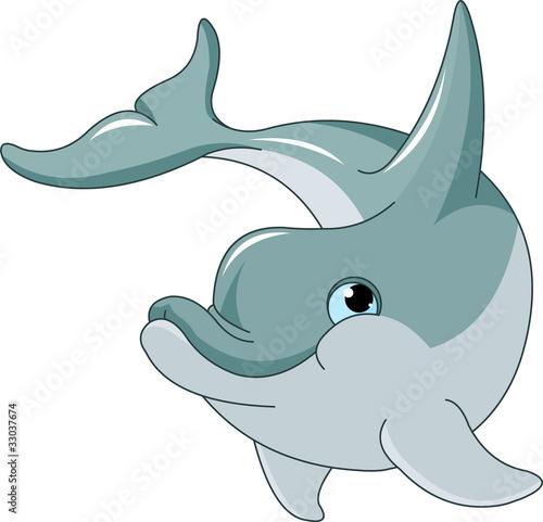 Fototapete Aquarium - Blau - Meeressäuger