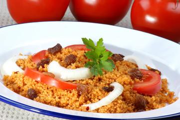 Couscous, ein Grundnahrungsmittel in Nordafrika