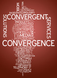"Word Cloud ""Convergence"""