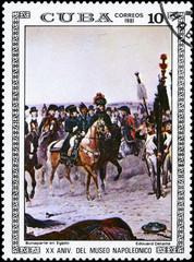 CUBA - CIRCA 1981 Bonaparte in Egypt