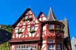 Altes Fachwerkhaus in Bacharach, Rheinland-Pfalz