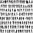 Common people silhouette - 33043651