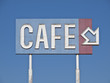 Vintage Generic Cafe Sign