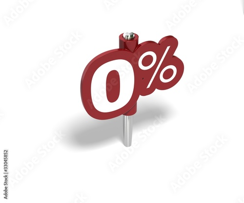 zéro pourcent, label 0 percent