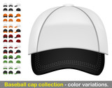 Baseball cap mega collection poster