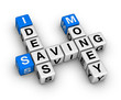 ideas saving money crossword