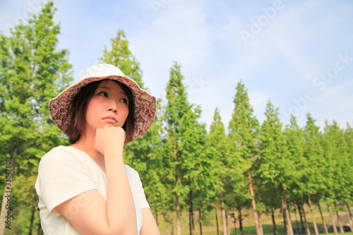Princess MAIKO Benicio / Hat in FRESH GREEN