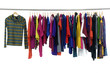 Fashion colorful clothing hanger